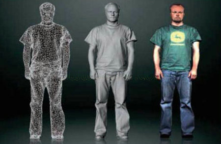 Aicon Breuckmann BodySCAN 三维扫描仪系统